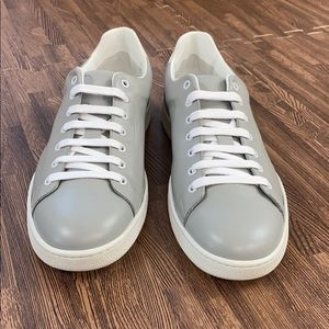New Marc Jacobs Nappa Sneakers Grey Eu 45 US 11.5